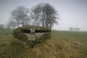 British observation post near Hebuterne - Somme Battlefield